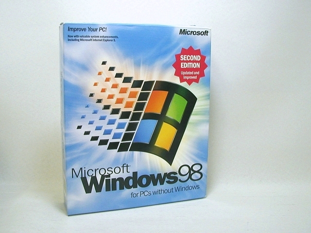 Windows98 SecondEdition 英語版
