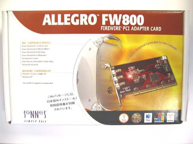 ALLEGRO FW800