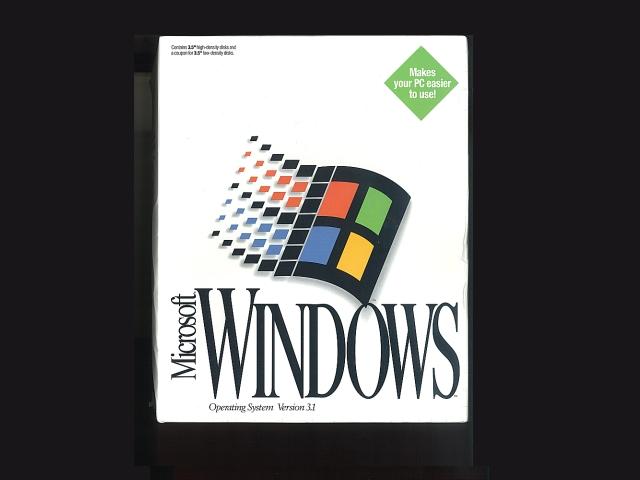 Windows3.1 英語版 FD版