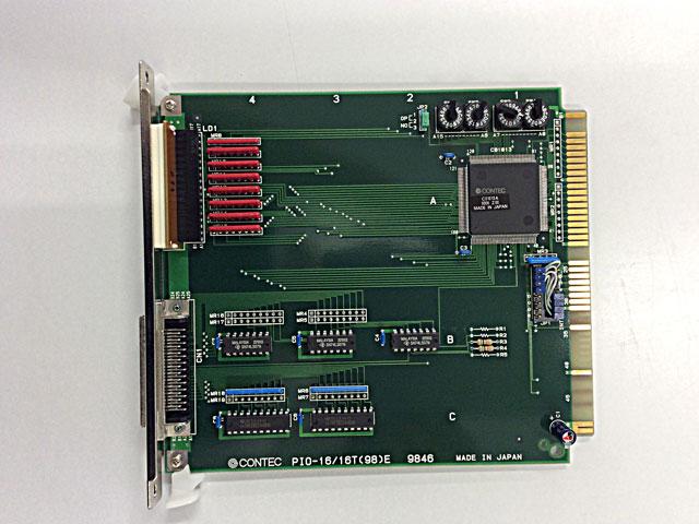 制御ボード販売 PIO-16/16T(98)E CONTEC