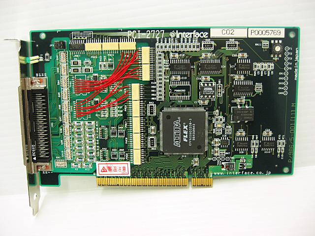 制御ボード販売 PCI-2727 Interface