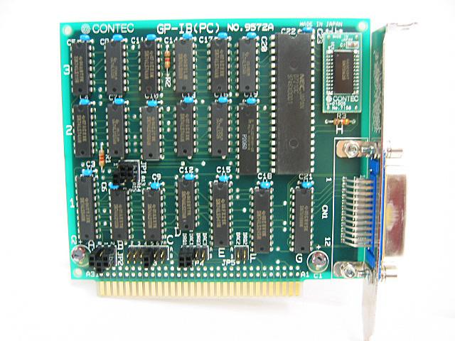 制御ボード販売 GP-IB(PC) CONTEC