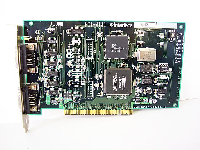 制御ボード販売 PCI-4141 Interface