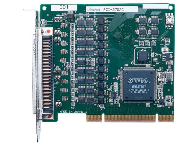 制御ボード販売 PCI-2702C Interface