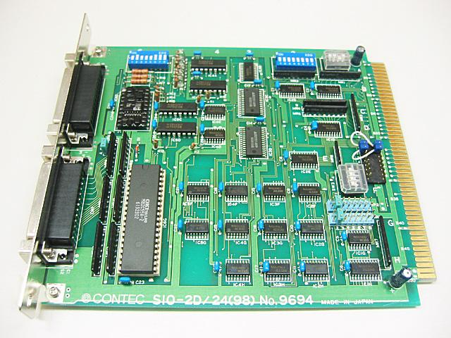 制御ボード販売 SIO-2D/24(98) CONTEC
