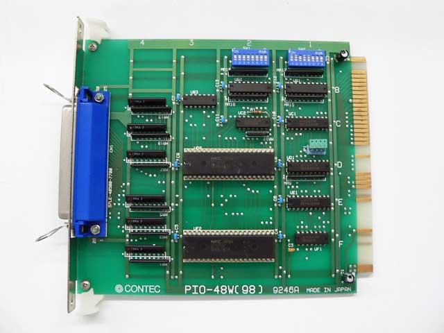 制御ボード販売 PIO-48W(98) CONTEC