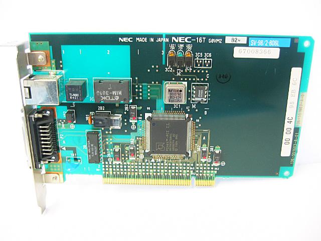 98ボード類販売 SV-98/2-B06L NEC