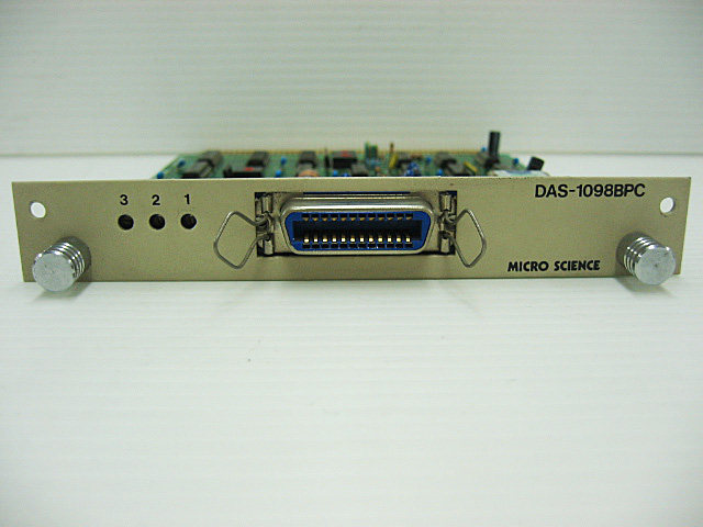 98ボード類販売 DAS-1098BPC MICRO SCIENCE