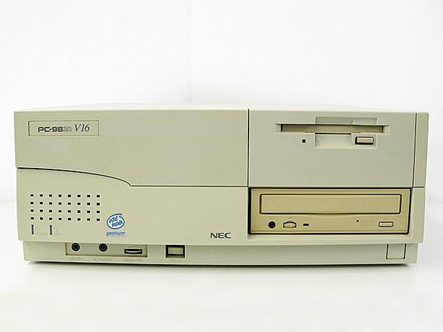 98デスクトップ販売 PC-9821V16 NEC