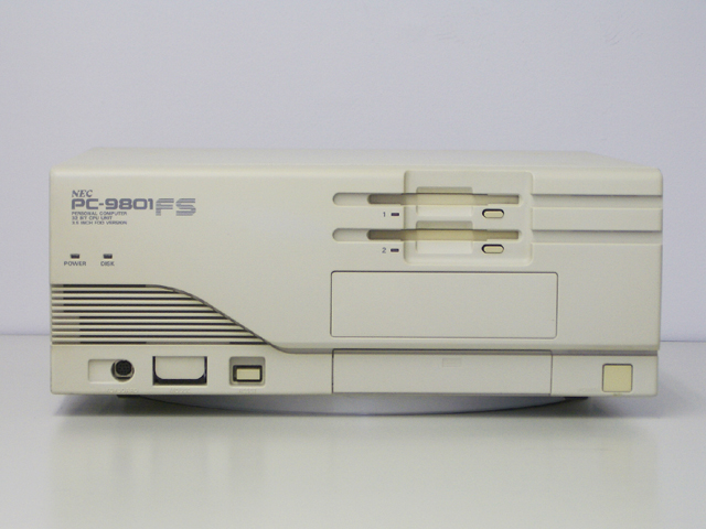 98デスクトップ販売 PC-9801FS/U2 NEC