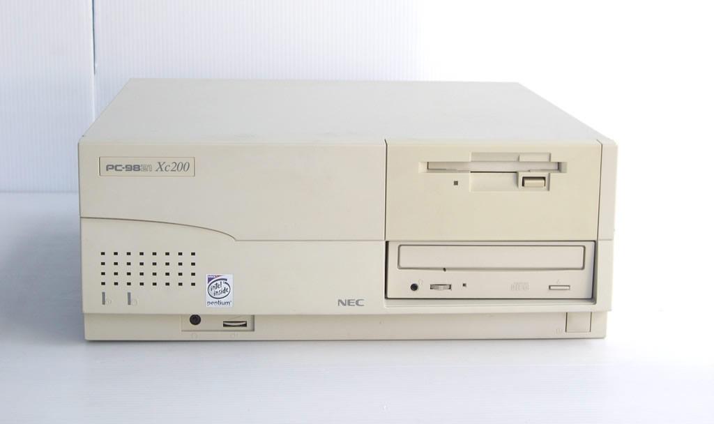 98デスクトップ販売 PC-9821Xc200/S7 NEC