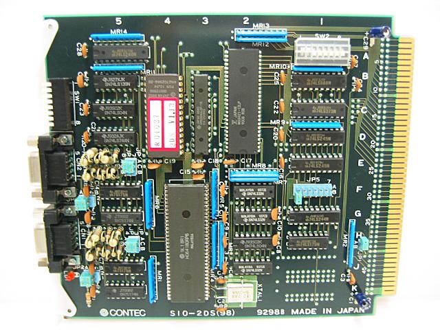 制御ボード販売 SIO-2DS(98) CONTEC
