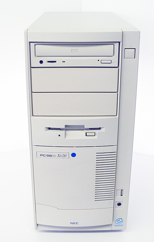 98デスクトップ販売 PC-9821Xv20/W30 NEC