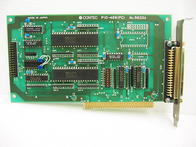 制御ボード販売 PIO-48W(PC) CONTEC