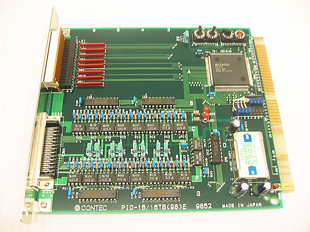 制御ボード販売 PIO-16/16TB(98)E CONTEC