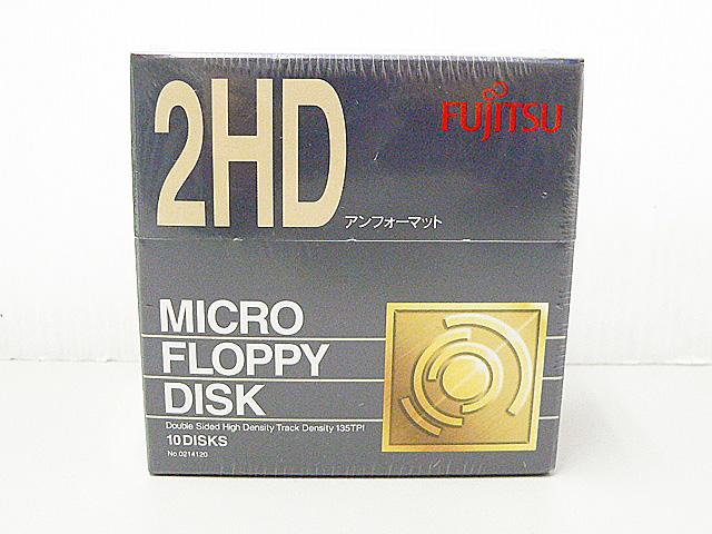 3.5インチ 2HD フロッピーディスク(10枚組)