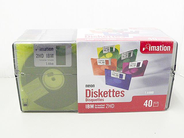 3.5インチ 2HD フロッピーディスク(40枚組)