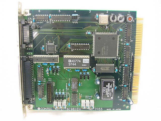 制御ボード販売 AD12-16(98)EH CONTEC