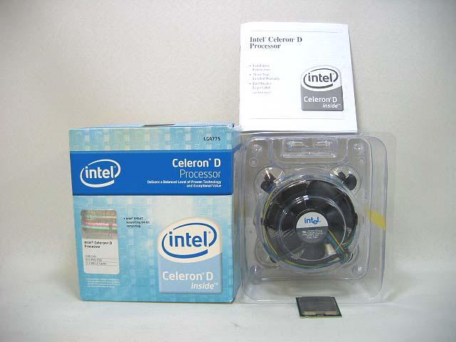 CPU Celeron D347
