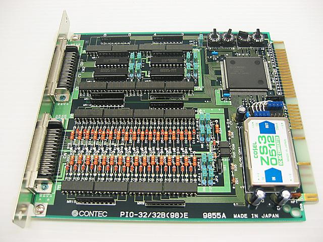 制御ボード販売 PIO-32/32B(98)E CONTEC