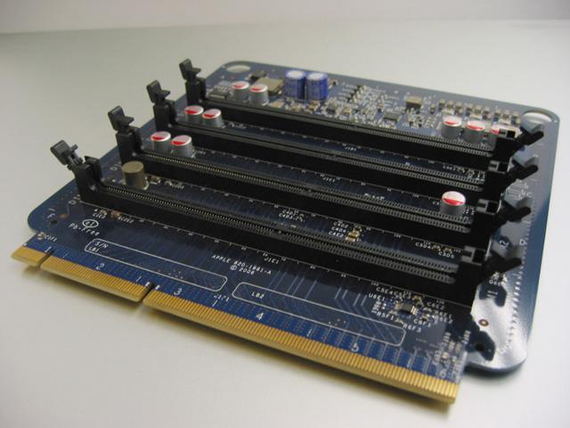 MacPro MA356J/A用メモリライザーカード