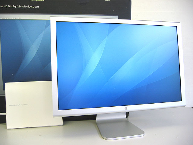 Apple Cinema HD Display 23 シルバー