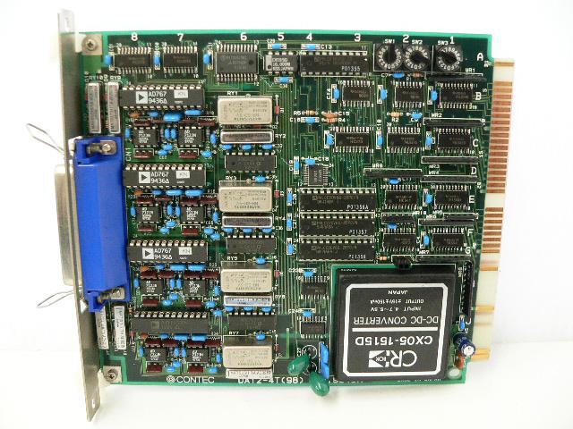制御ボード販売 DA12-4T(98) CONTEC