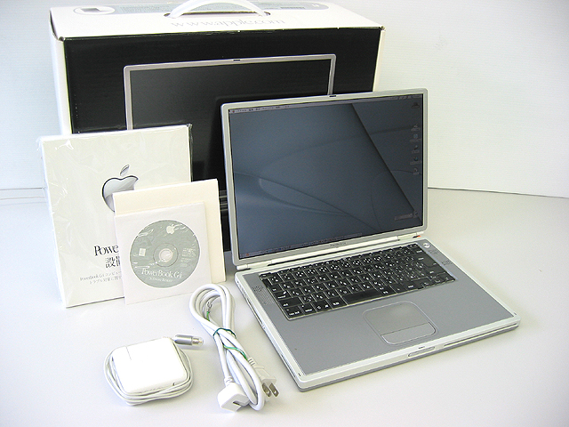 PowerBook G4 Titanium 1GHz 15.2インチ