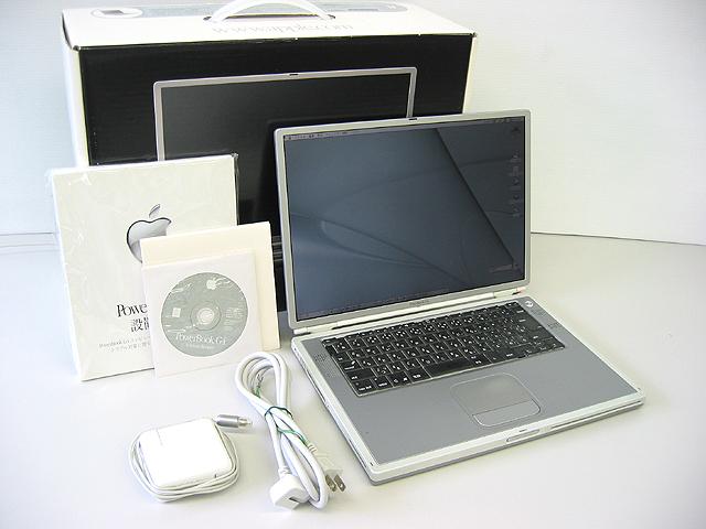中古PowerBook販売 PowerBook G4 Titanium 667MHz 15.2インチ Apple