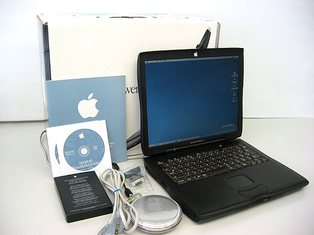 中古PowerBook販売 PowerBook G3 Lombard 400MHz 14.1インチ Apple