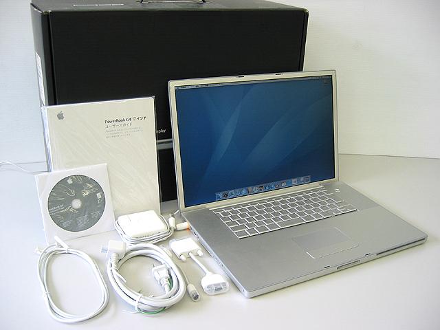 PowerBook G4 Aluminium 1.67GHz 17インチ