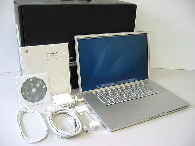 PowerBook G4 Aluminium 1.5GHz 17インチ