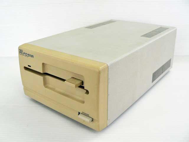 98周辺機器販売 外付5インチFDシングルドライブ PC-FD511R NEC