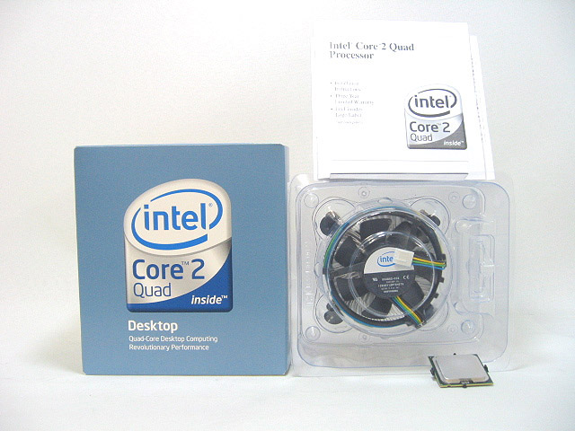 CPU Core2 Quad Q6600