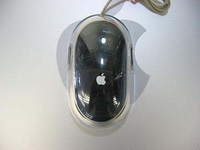 中古Macマウス販売 Pro Mouse 黒  Apple