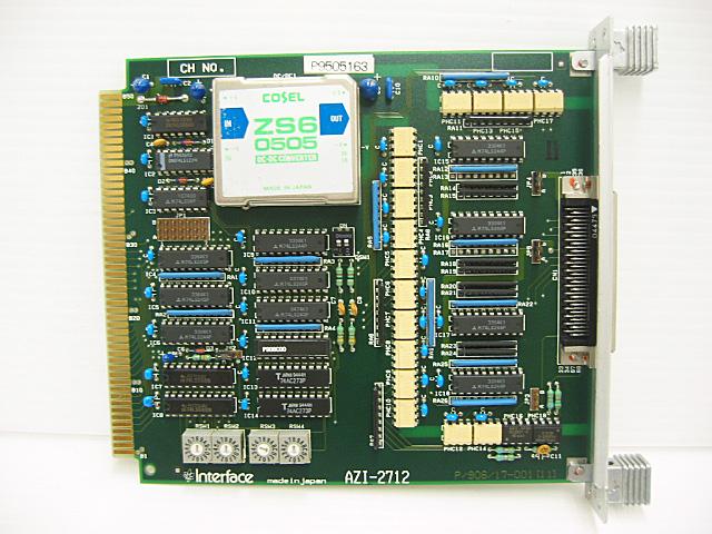 制御ボード販売 AZI-2712 Interface