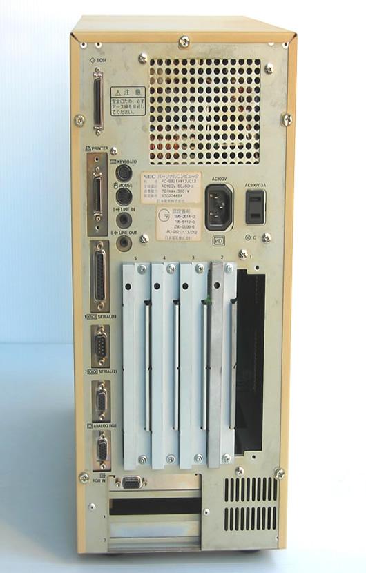 98デスクトップ販売 PC-9821Xt13/C12 NEC