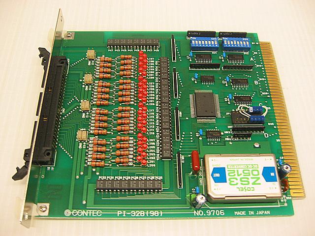 制御ボード販売 PI-32B(98) CONTEC