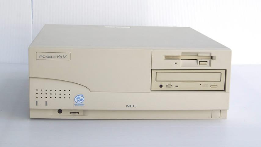 98デスクトップ販売 PC-9821Ra18 NEC