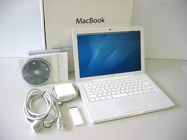 MacBook 2.1GHz 白 13.3インチ