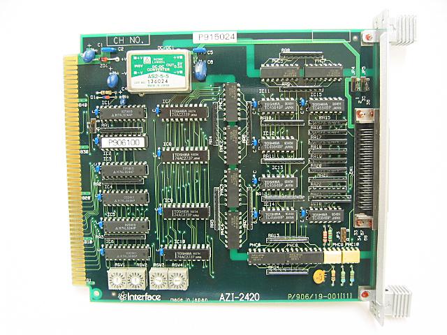 制御ボード販売 AZI-2420 Interface