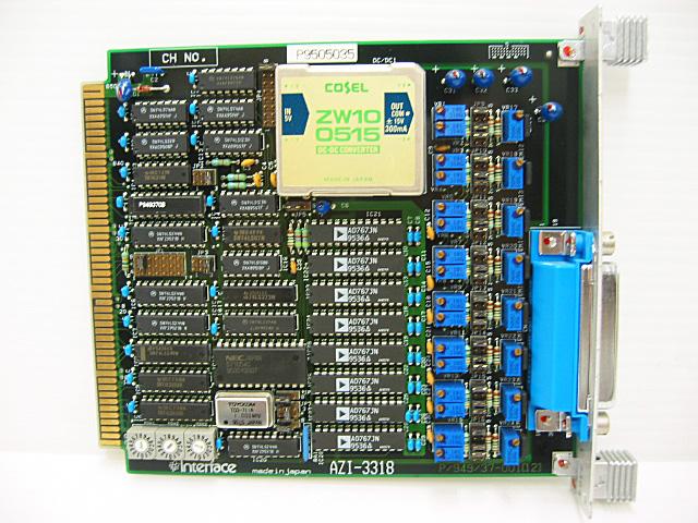 制御ボード販売 AZI-3318 Interface