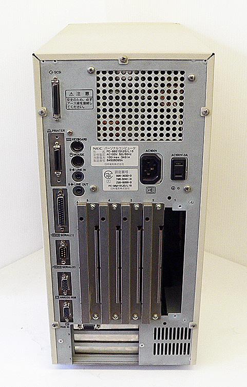 98デスクトップ販売 PC-9821St20/L16 NEC