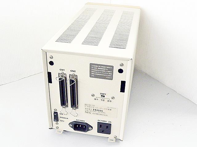 98周辺機器販売 外付5インチFDダブルドライブ N5182-51 NEC