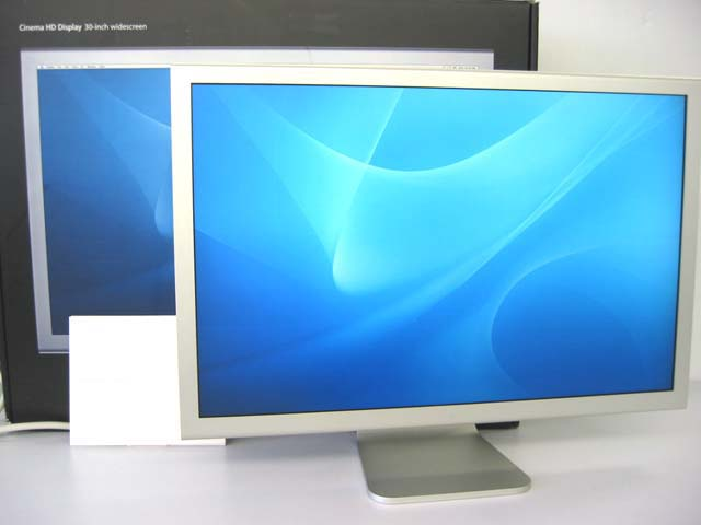 中古Macディスプレイ販売 Cinema HD Display 30 シルバー Apple