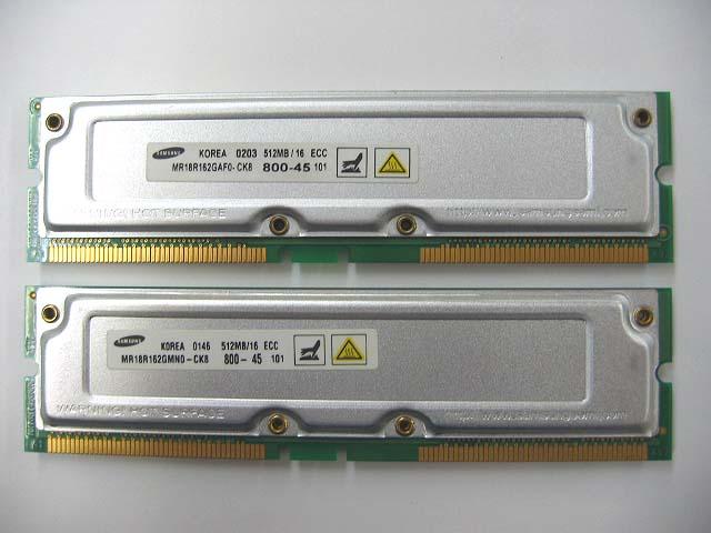 PC800-45 512MB(ECC)×2