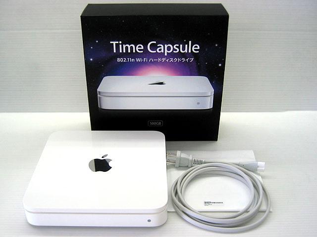 Time Capsule 802.11n 第1世代 500GB MB276J/A