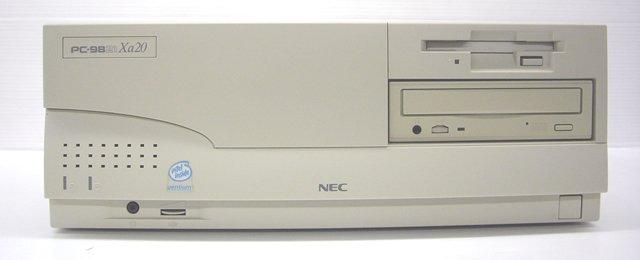 98デスクトップ販売 PC-9821Xa20 NEC