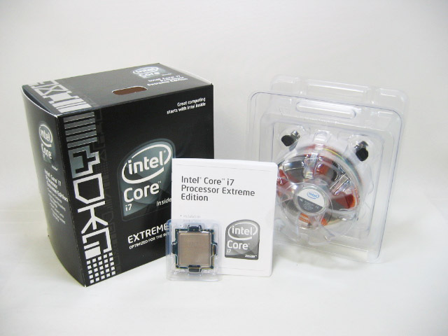 CPU Core i7 965 Extreme Edition