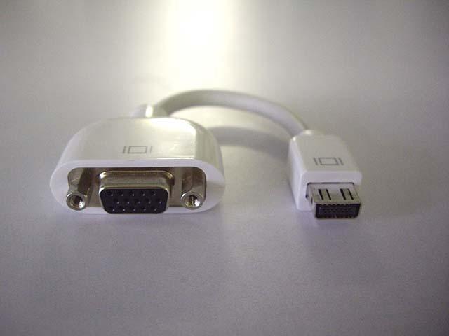 Mini VGA-VGA アダプタ
